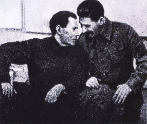 Сталин и Ежов