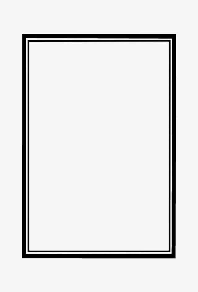 Double Black Border Text Box Png Black Black Clipart Border Clipart Box Box Clipart Transparent Text Text Borders Green Screen Video Backgrounds