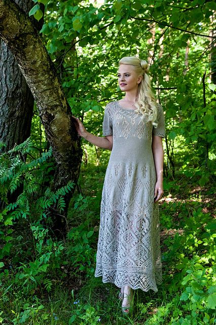 Ravelry: Ligvita's shetland lace dress