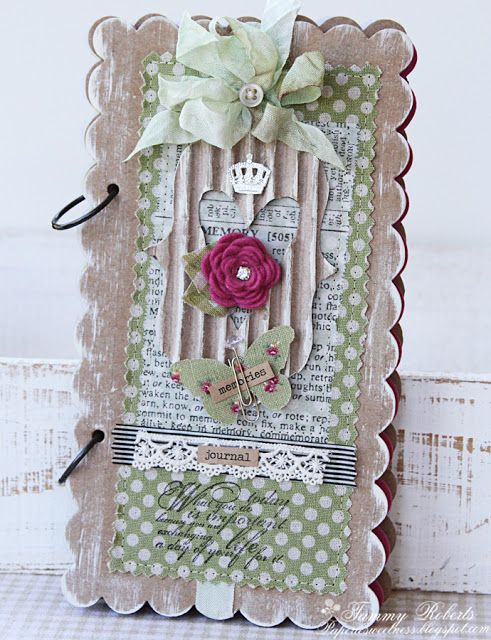 Sizzix Die Cutting Inspiration and Tips: Memories Journal