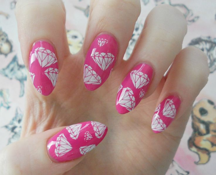 1000+ Ideas About Diamond Nail Designs On Pinterest | Diamond Nails Nail Design And Nails