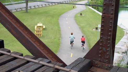 piste cyclable du Suroît