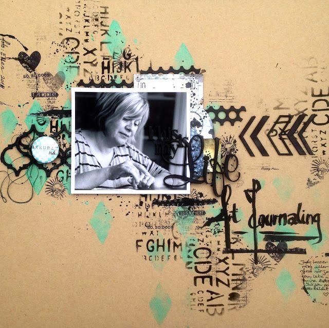 2Crafty Chipboard - September Inspiration By Marianne Johansson