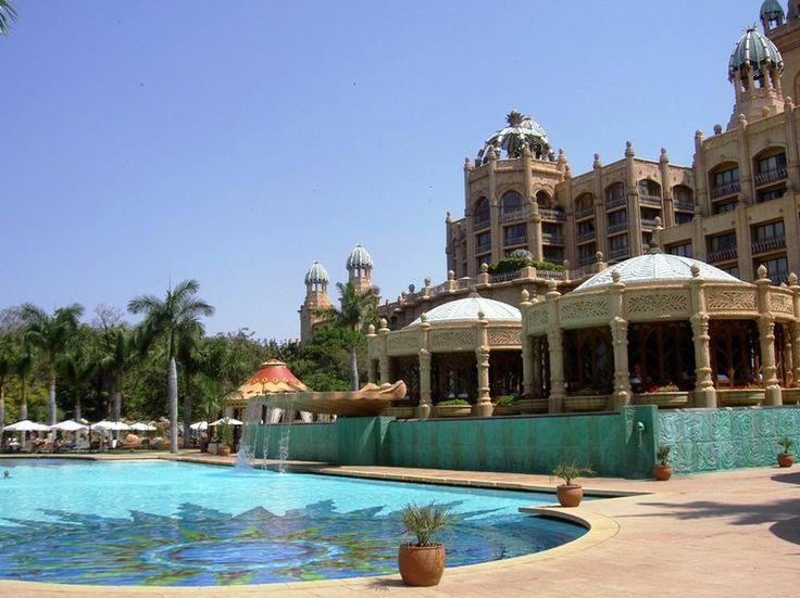 Soak up the sun at the Lost Palace pool