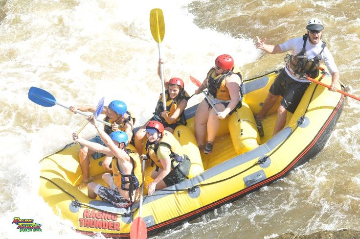White Water Rafting on the Barron River, Cairns, Australia