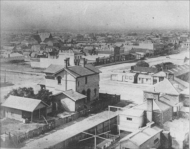 Sandridge in Melbourne in 1892.
