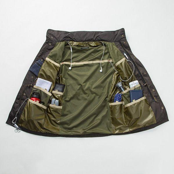 オムニ7 - 西武・そごうのe.デパート|着るバッグ フィールドジャケット 通販