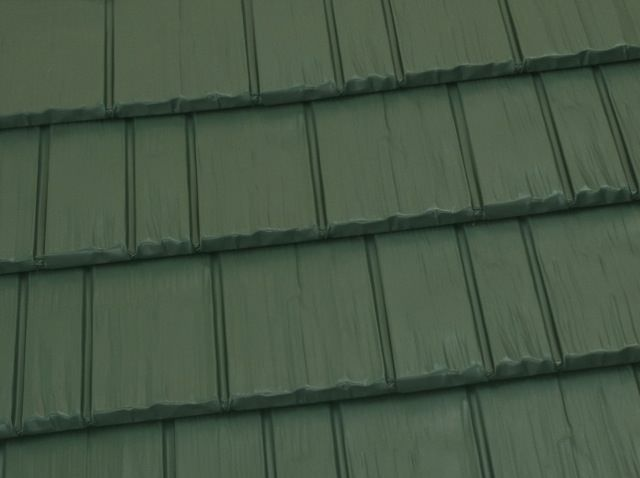 Best Forest Green Hiproofing Metal Shingle Roof Metal 400 x 300