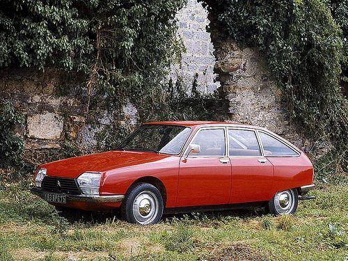 Citroën GS - deze prachtige auto hadden wij vroeger!