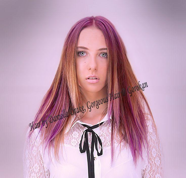 #love #hair #ombre #gorgeoushair #hairofthe day #beautiful #fashion #followme @gorgeoushairgo #longhair #picoftheday #baliyage #purple #violet #gorgeoushairgorokan #novacolourist #delorenzo #aspyasalon