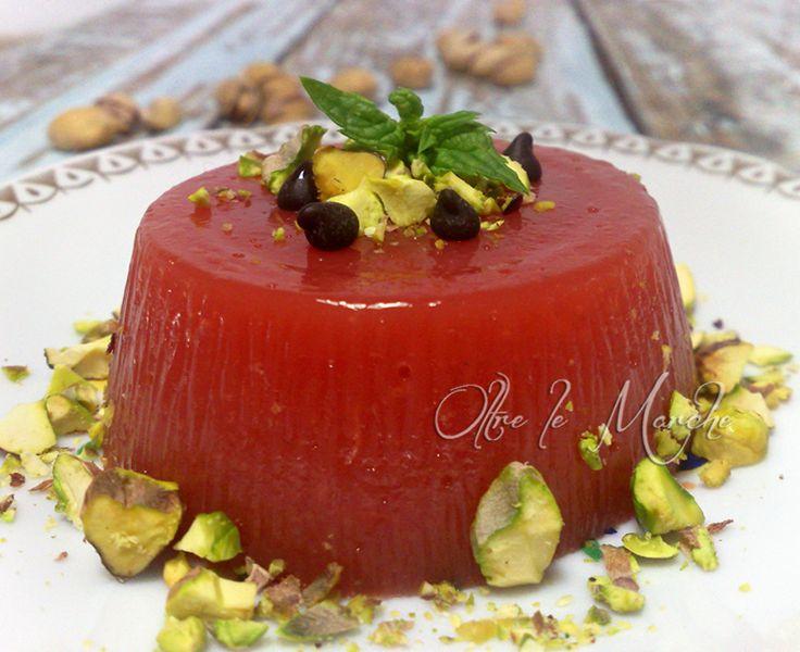 Gelo d'anguria, dolci siciliani