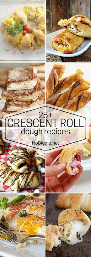 25+ Crescent Roll Dough Recipes | NoBiggie.net