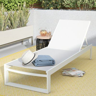 Branchville Premium Outdoor Reclining Chaise Lounge - http://delanico.com/chaise-lounges/branchville-premium-outdoor-reclining-chaise-lounge-725773702/