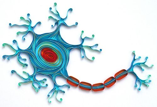 Quilled Neuron by all things paper, via Flickr