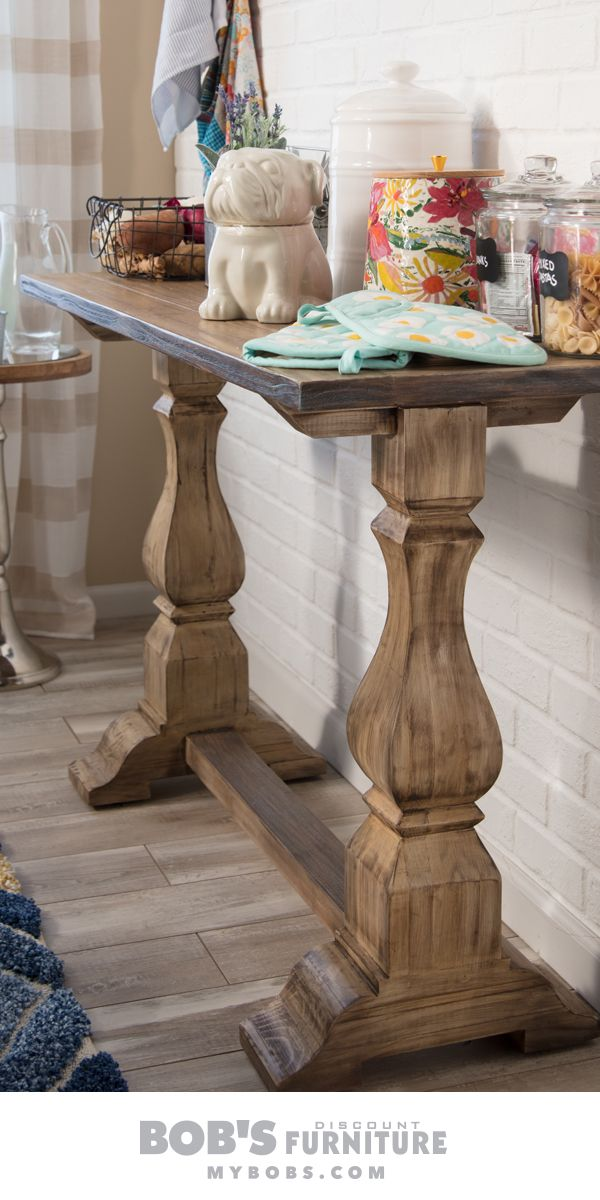 low priced acf09 95d5b I love the extra counter space this double pedestal console ...