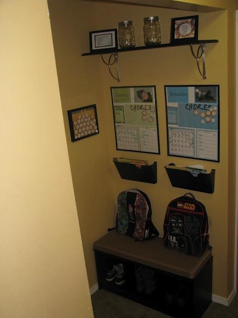 Chore chart, homework organization and kids schedules. My favorite so far!!