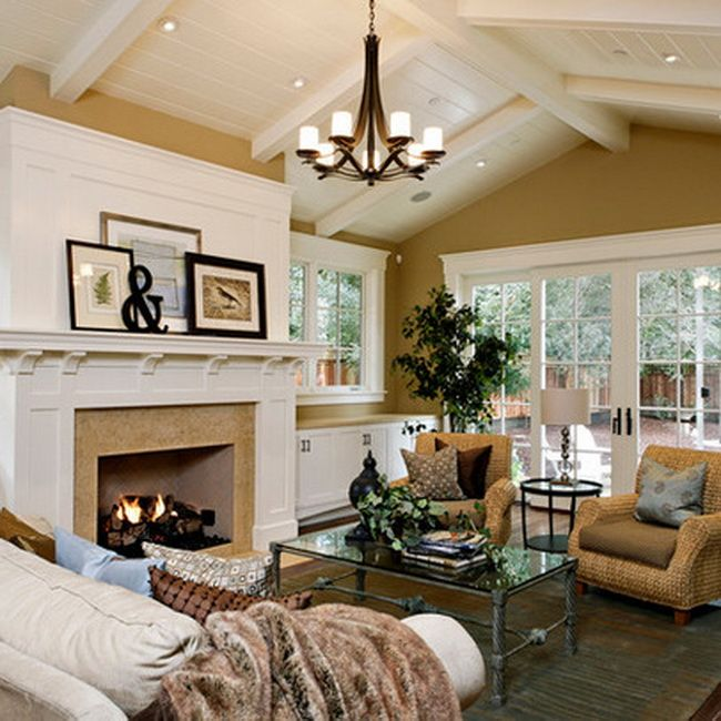 Traditional Living Room Layout Ideas