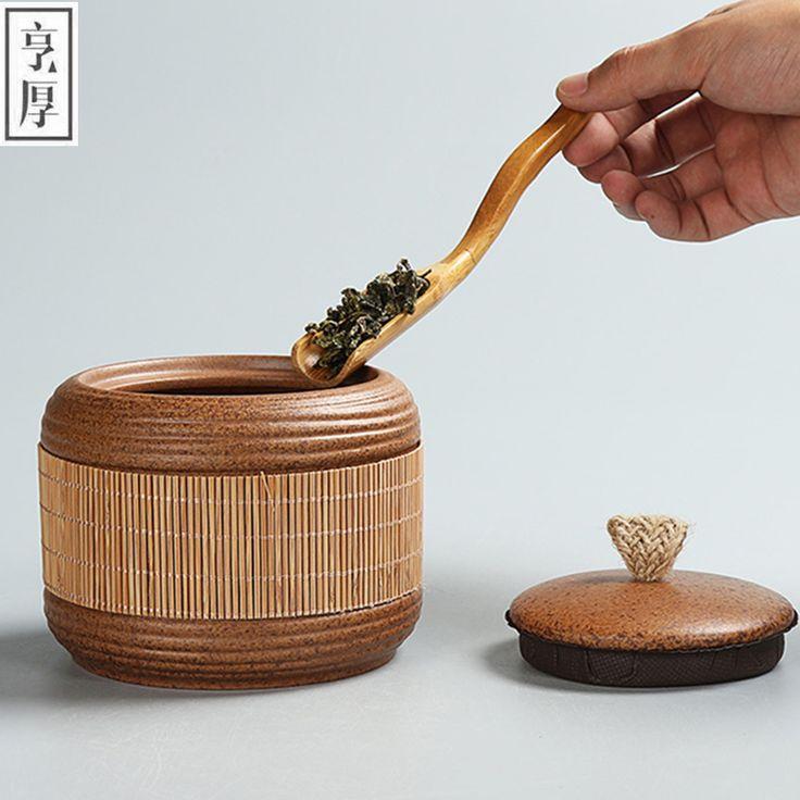 2016 Kitchen supplies store sealed cans Tea China pot,tank ceramic tanks,Chinese style Coffee pot sugar bowl Free Shipping large