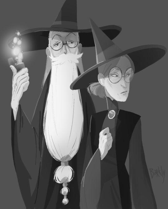 dumbledore & mcgonagall
