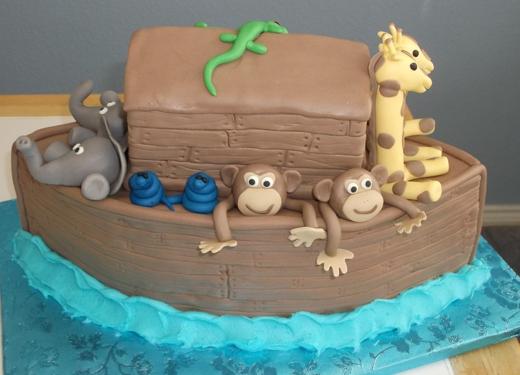 Baby Shower Cakes Perth Wa ~ Best images about noah s ark cakes on pinterest boat