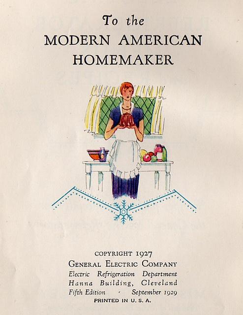 recipe book cover 1929
