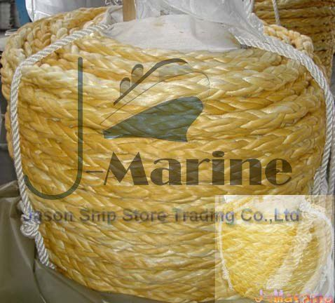 12 Strand UHMWPE Hawser / UHMWPE Marine Rope $3~$52
