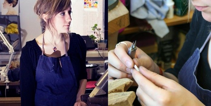 Nicola Turnbull Jewellery - Meet Your Maker 2013 at Inverness Museum and Art Gallery