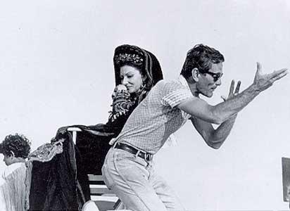 Medea, a Pier Paolo Pasolini's film. Starring Maria Callas. Set design: Dante Ferretti  #MariaCallas #Callas #neorealism #director #regista #movie #cinema #pierpaolopasolini #pasolini