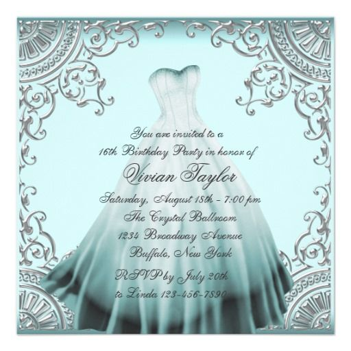 48 best Alexandras sweet 16 images – 16th Birthday Party Invitation Wording