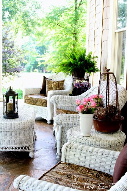 Top This Top That: My Summer Southern Front Porch