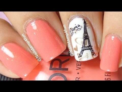 How To Paris Nail art INM Nails - White Porcelain, Black Hole and Out The - Top 25+ Best Paris Nail Art Ideas On Pinterest Paris Nails