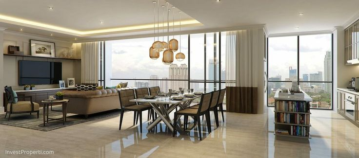 Interior Design Wang Residence Penthouse Room 2