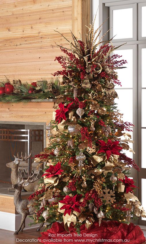 Christmas Tree Themes - 2016, Part 1 Winter Holiday Decor