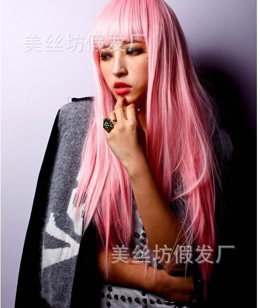 Big Discount Pink Ladies Cosplay Pink Wigs Straight Cheap Wigs Online with $14.72/Piece on Kinkin791008's Store | DHgate.com