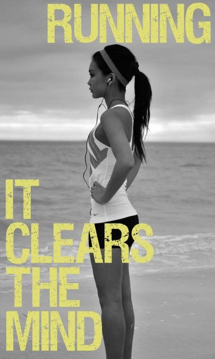 Running - it clears the mind http://todosobrerunning.com