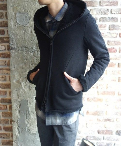 BNWT KAZUYUKI KUMAGAI ATTACHMENT BLACK FULLY ZIPPEP CARDIGAN 5JP,800$,JULIUS_7 #KAZUYUKIKUMAGAIATTACHMENT #HOODIE