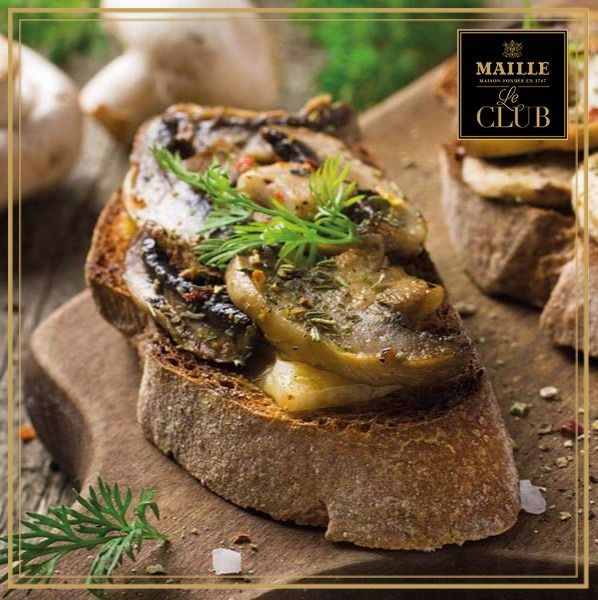 Learn how to to cook Chef Bruno Loubet's ultimate mushrooms on sourdough toast–the perfect brunch recipe for your weekend! #MyMaille
