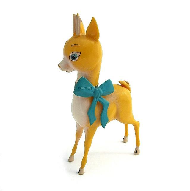 1970s Babycham deer figurine