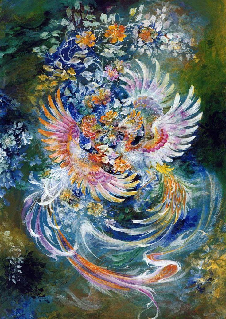 mahmoud farshchian paintings names Google Search