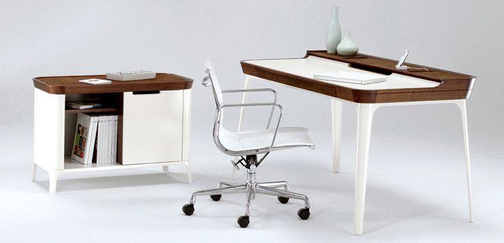 Cool Study Desk for Modern Teen Room Design from Kaijustudios | Kidsomania