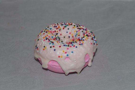 Strawberry Vanilla Bath Donut by Neveska on Etsy