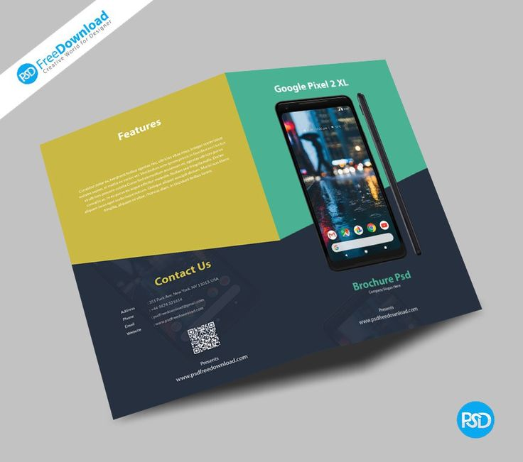 Mobile Fold Brochure Psd Free Download.  Download: http://bit.ly/2zpkJaD You can use this brochure template For Mobile, Electronics, Offers, business, corporate and many others. All of our editable . Fully layered based PSD document. Layered PSD file you can easily change texts, content, images, objects and color. We would like to present to your attention our new Mobile Fold Brochure Psd. #GooglePixel #Brochure #Fold #Mobile #Phone