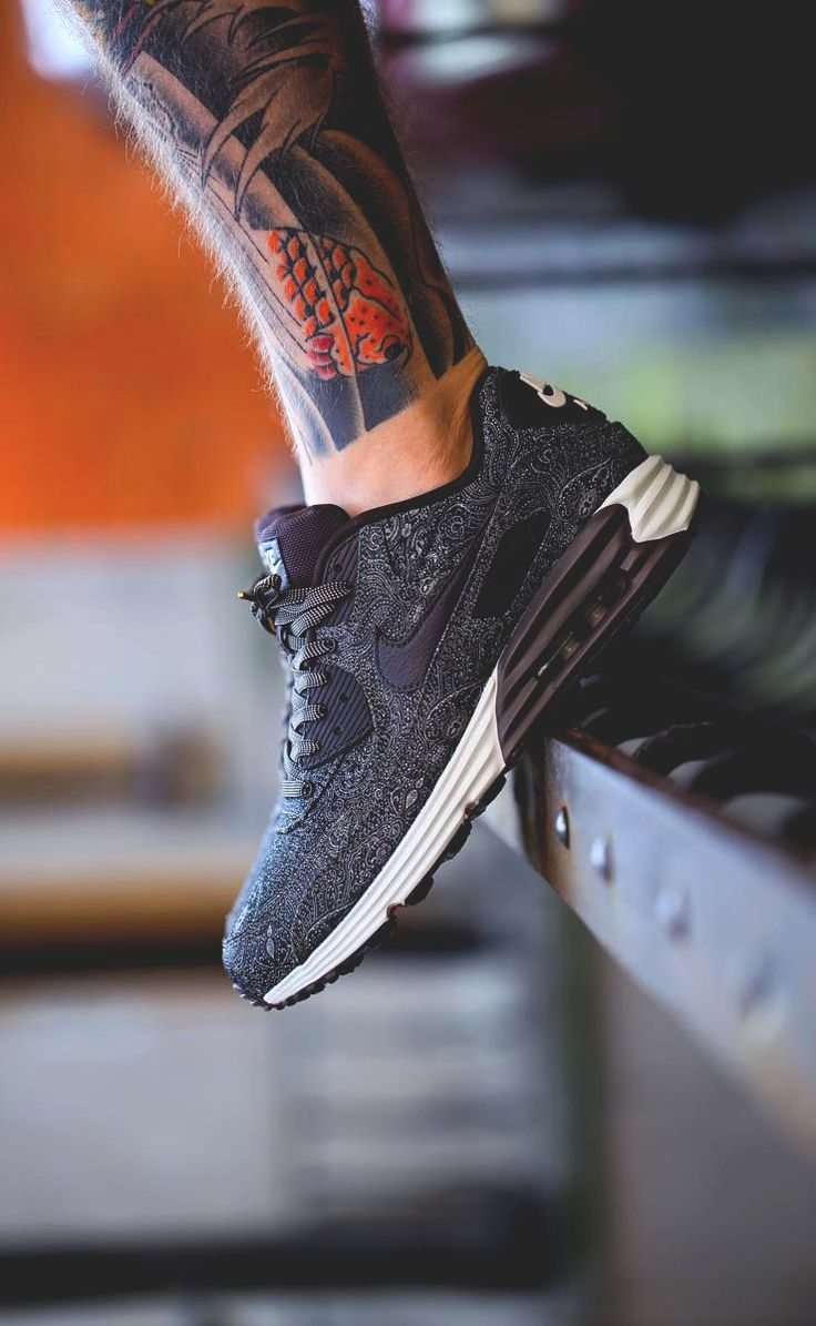 nike air max lunar 90 all black