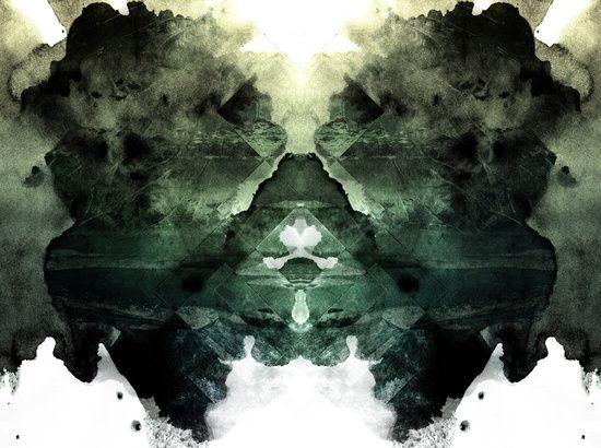 Test de Rorschach Art Print