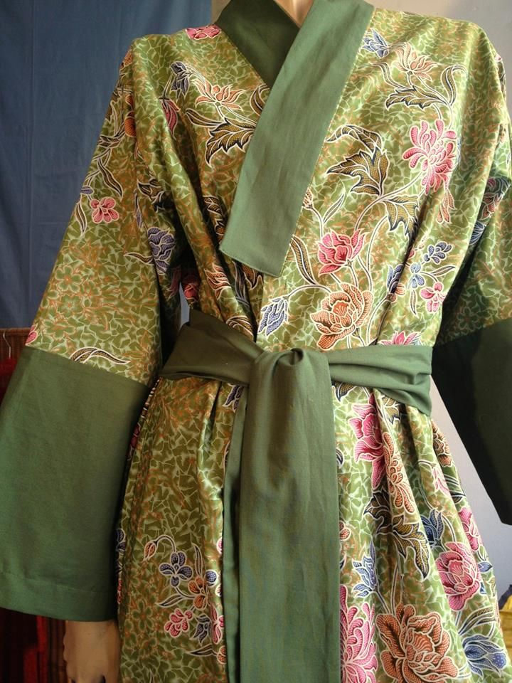 custom made green Yukata