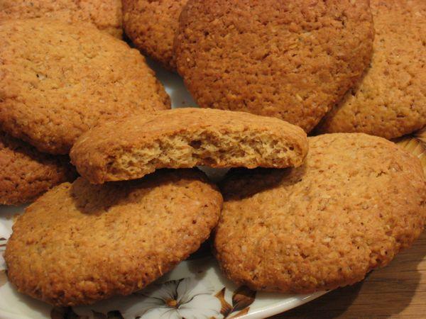 Легкие рецепты для вкуса жизни » Домашнее овсяное печенье