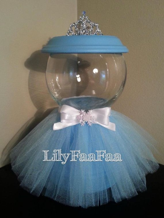 Frozen Inspired Faux Gumball Machine by LilyFaaFaa on Etsy