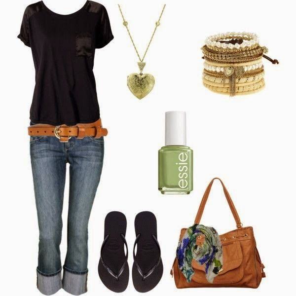 Cute and Casual Outfit Ideas 2014