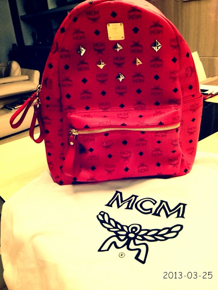 My New MCM Bag yay<3