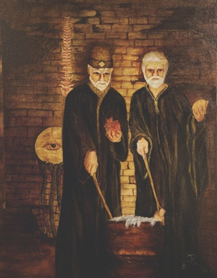"""""""Toads and Eucharists: The Male Witches of Normandy"""".  This is a dry historical article, but has some interesting facts: http://search.ebscohost.com.proxy.itt-tech.edu/login.aspx?direct=true&db=afh&AN=39748&site=eds-live"""
